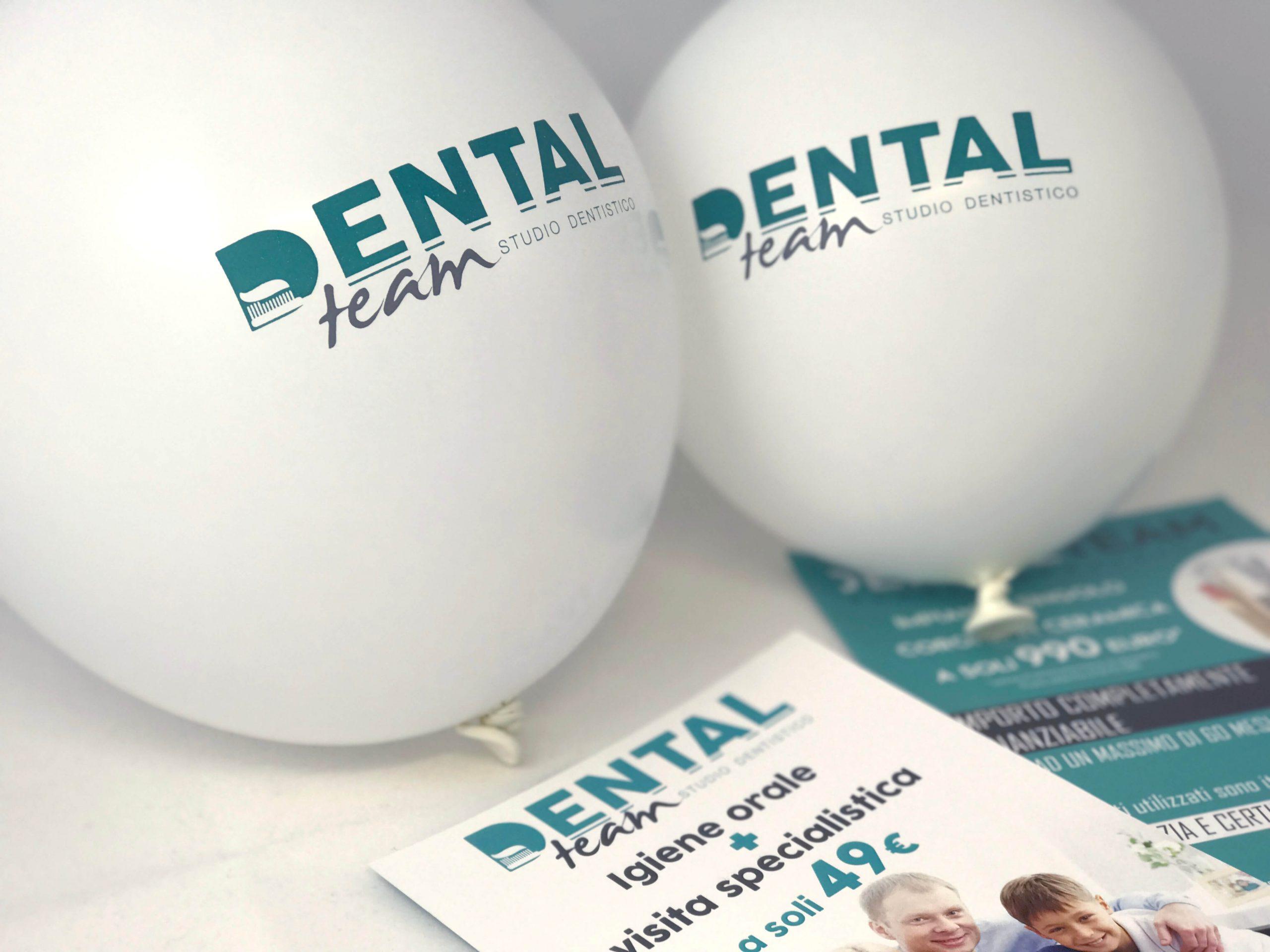 Dental Team Volantini e palloncini Particolare